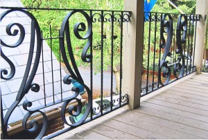 Appalachian Ironworks Strong Iron Railing