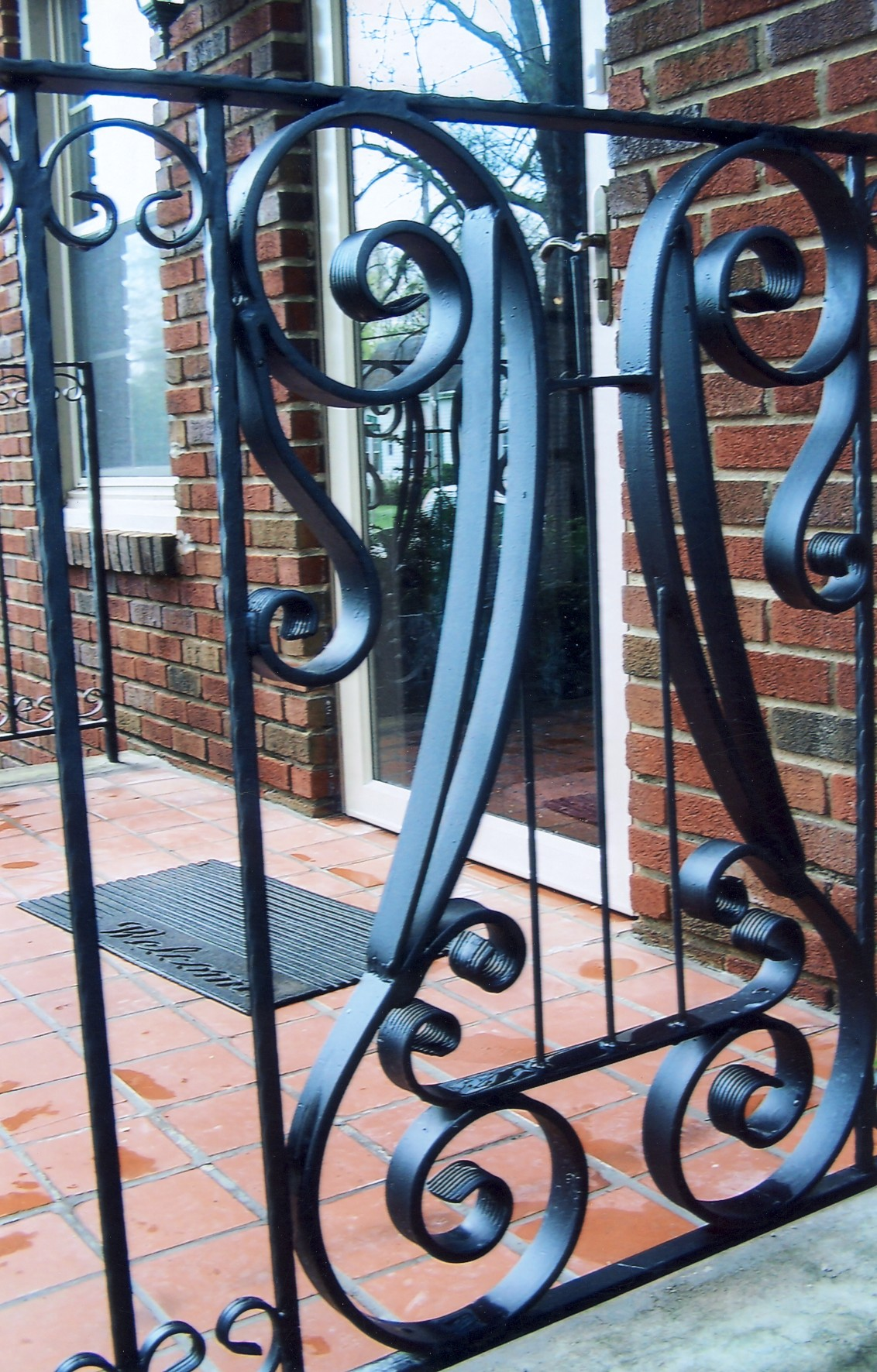 Strong Iron Railing Appalachian Ironworks