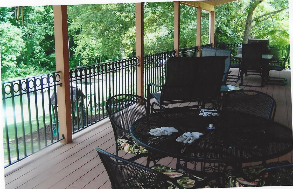 Outdoor Railing Appalachian Ironworks