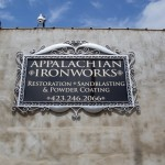 Appalachian Ironworks Sign